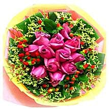 Deluxe Pink Bouquet: Ramadan Gift Delivery in Malaysia