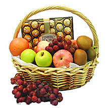 Energetic Fruit Basket: Anniversary Gifts to Malaysia