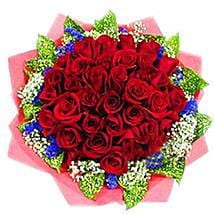 Fantastic Roses Bouquet: New Born Flowers to Malaysia