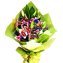 Mesmerising Lilies Collection: Send Flower Bouquets to Malaysia