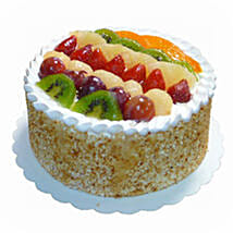 Mixed Fruits Sponge Cake: Cake Delivery in Kota Kinabalu