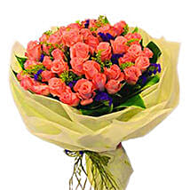 Special Pink Bouquet: Romantic Gifts to Malaysia