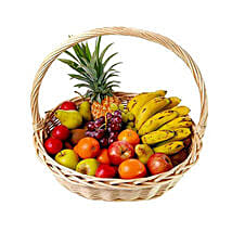 Basket Of Fresh Fruits: Mauritius Gifts Delivery