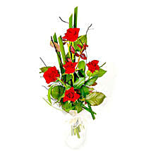 Romantic Roses: Send Flower Bouquet to Mauritius