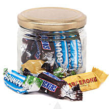 Candy Jar With Love Message: Birthday Gift Delivery in Nepal