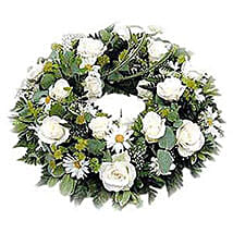 Funeral Wreath: Love & Romance Gifts to Nepal