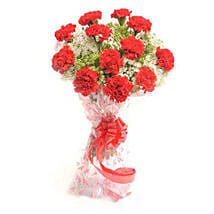 Romantic In Red: Send Flowers to Nepal
