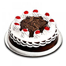 Sweet n Simple Blackforest Cake: Love & Romance Gifts to Nepal