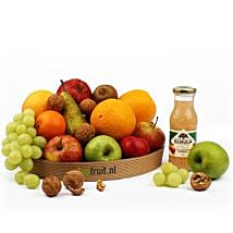 Basket Of Healthy Fruits: Send Valentines Day Gifts to Netherlands