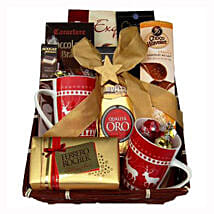 Coffee with Monika Christmas Gift Basket: Corporate Gifts to Netherlands