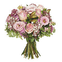 Blushing Pink Bouquet: Romantic Gifts to Nz