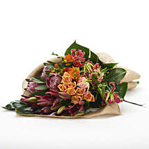 Exotic Bright Flowers: Send Flower Bouquets to New Zealand