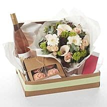 Harry Peach And Ecoya Gift: Congratulations Flowers to New Zealand