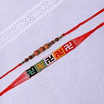 Mere Ratan Rakhi: Set of 2 Rakhi to New Zealand
