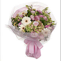 Pastel Mini Posy: Romantic Gifts to New Zealand