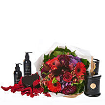 Peaceful Love Hamper: Congratulations Flowers to New Zealand