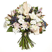 Pink Antique Bouquet: Lilies to New Zealand