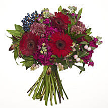 Red Ruby Posy: Valentine's Day Gifts to NZ