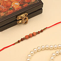 Rudraksh Rakhi: Rakhi to New Zealand