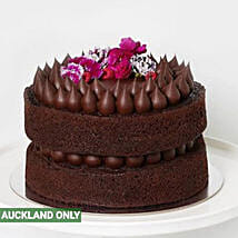 Sinfully Delicious Dark Chocolate Cake