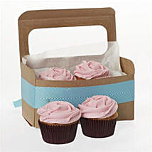 Strawberry Cupcakes: Romantic Gifts to New Zealand
