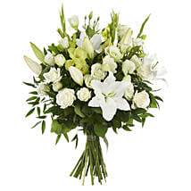 Wild Poppies Classic Bouquet: Lilies to New Zealand