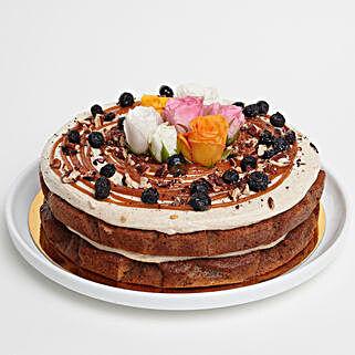 Yummy Carrot Pecan Cake: Send Gifts to Hamilton