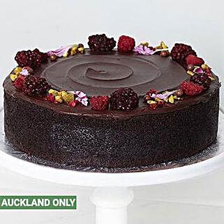 Yummy Dark Chocolate Cake: Birthday Cakes To New Zealand
