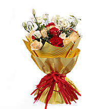 Bouquet Of Gleaming Romance: Send Flower Bouquet to Oman