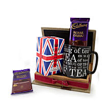 Keep Calm Tea Set: Friendship Day Gift Delivery in Oman