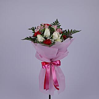 Refreshing Flower Bouquet: Send Flower Bouquet to Oman