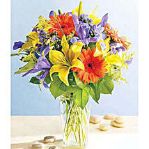 Express Wish: New Year Flowers to Philippines