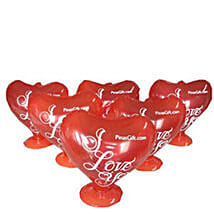 Heart Baloons: Wedding Gifts to Philippines