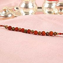 Rudraksha Bead Rakhi: Rakhi Delivery in Philippines