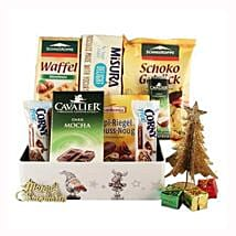 Sweet Moments Diabetic Gift Basket: Corporate Hampers to Poland