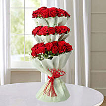 Multi Storied Roses QT: Send Birthday Gifts to Qatar