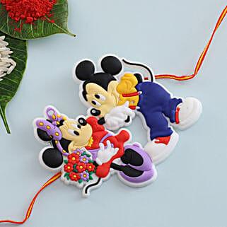 Micky Mouse Kids Rakhi: Rakhi Delivery in Romania