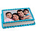 Yummy Vanilla Photo Cake 1kg