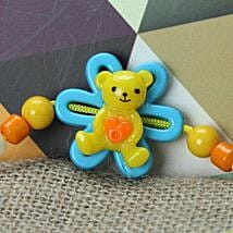 Cute Little Teddy Rakhi SAI: Rakhi Delivery in Saint Lucia