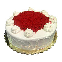 1 Kg Red Velvet Cake: Mother's Day Gifts to Saudi Arabia