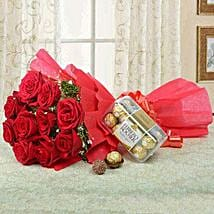 Combo For Love: Rose Day Gift Delivery in Saudi Arabia