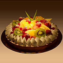 Fruit Tart: Valentines Day Cakes in Saudi Arabia
