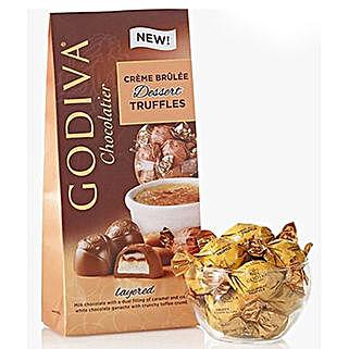 Godiva Dessert Truffles: Valentine's Day Gifts to Saudi Arabia