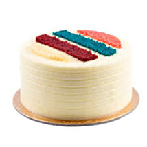 Rainbow Cake 1kg: Send Fathers Day Gifts to Saudi Arabia