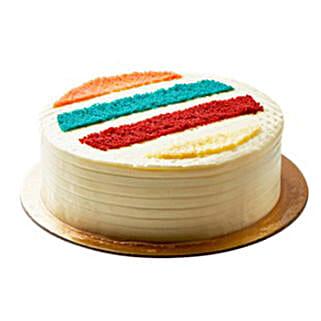 Rainbow Cake 2kg: Send Ramadan Gifts to Saudi Arabia