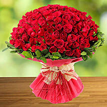 100 Red Rose: Valentine's Day Rose Delivery in Singapore