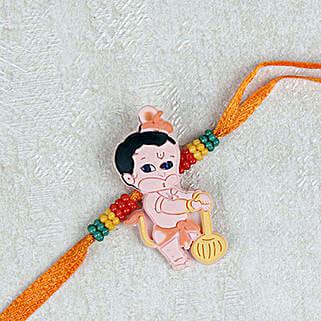 Adorable Balla Hanuman Rakhi: Rakhi for Kids in Singapore