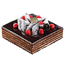 Chocolate Square Cake: Cake Delivery in Singapore