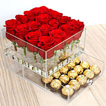 Elegant Roses and Ferrero Rocher: Valentine's Day Gift Delivery in Singapore