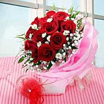 Multi wrapped Roses: Send Christmas Flowers to Singapore